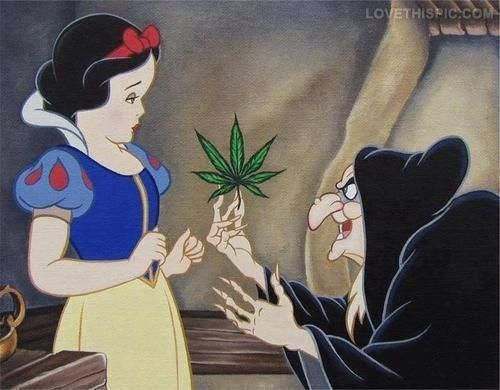 canibus snow white funny princess disney drugs pot cartoons marijuana fairy tale witch