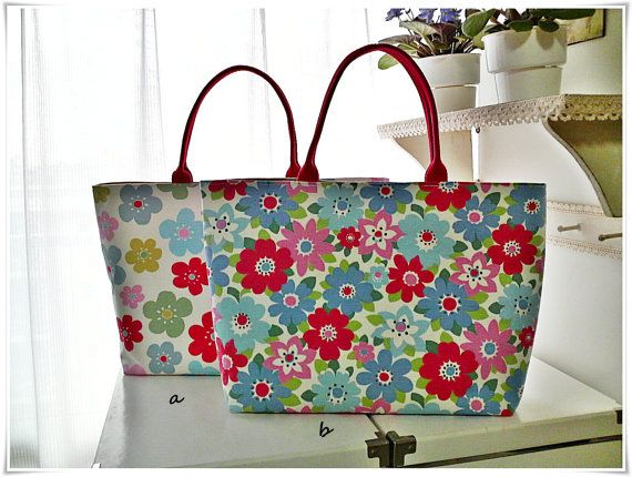 Tote bag using Cath Kidston cotton canvas