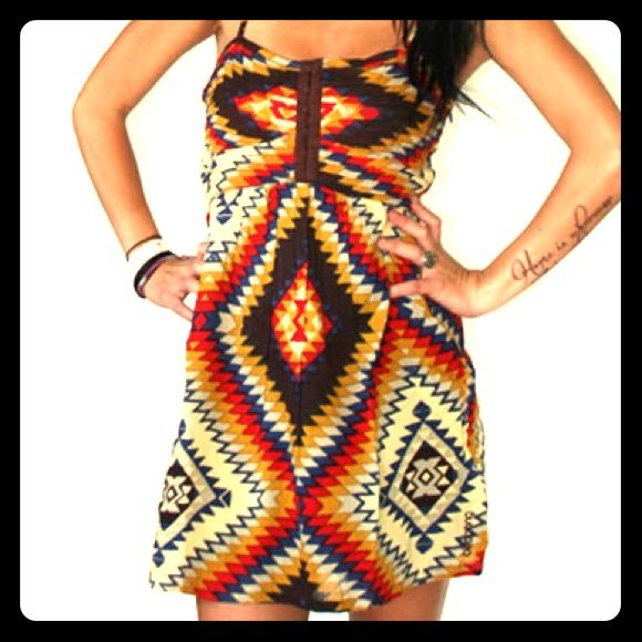 Billabong Tribal Print Dress