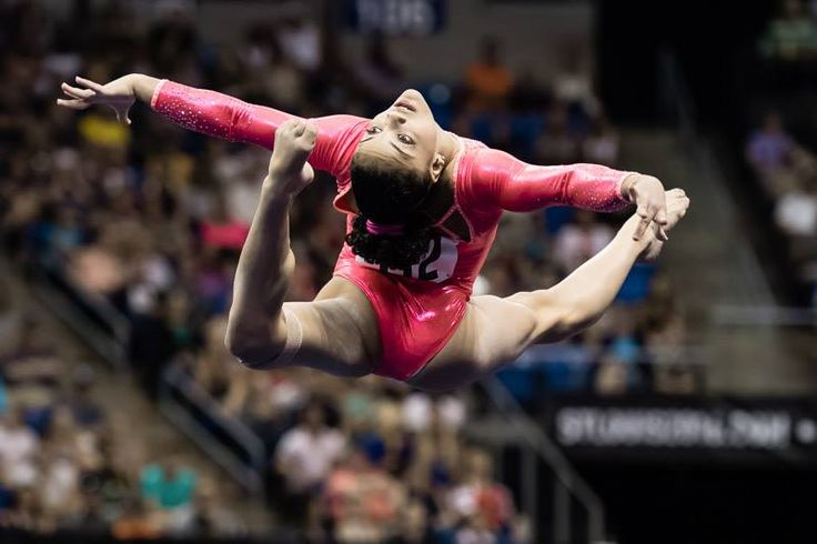 Laurie Hernandez--2016 P&G Championships night 1