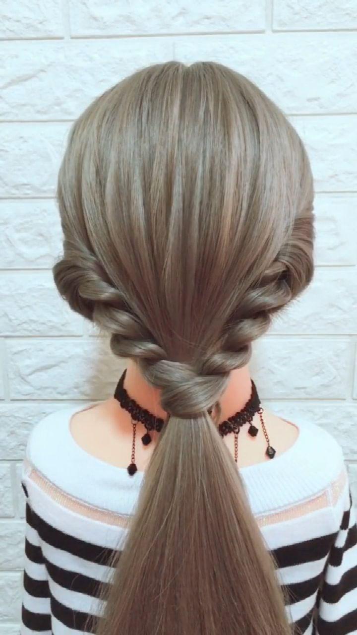 Hairstyle Tutorial 882 -   - #hairscolorideas #hairstyle #hairstylesformediumlengthhair #hairstylestutorials #tutorial