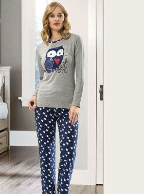 Kalpli Pijama Takımı 66002