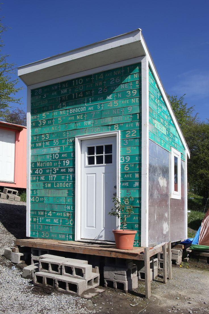 Making The Impossible City: A Youth-Built Homeless Village. Tiny House ...