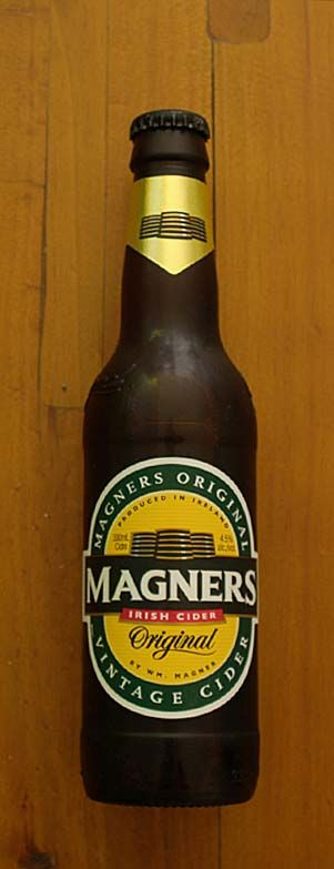 Magners. It's an Irish cider--and my favorite.