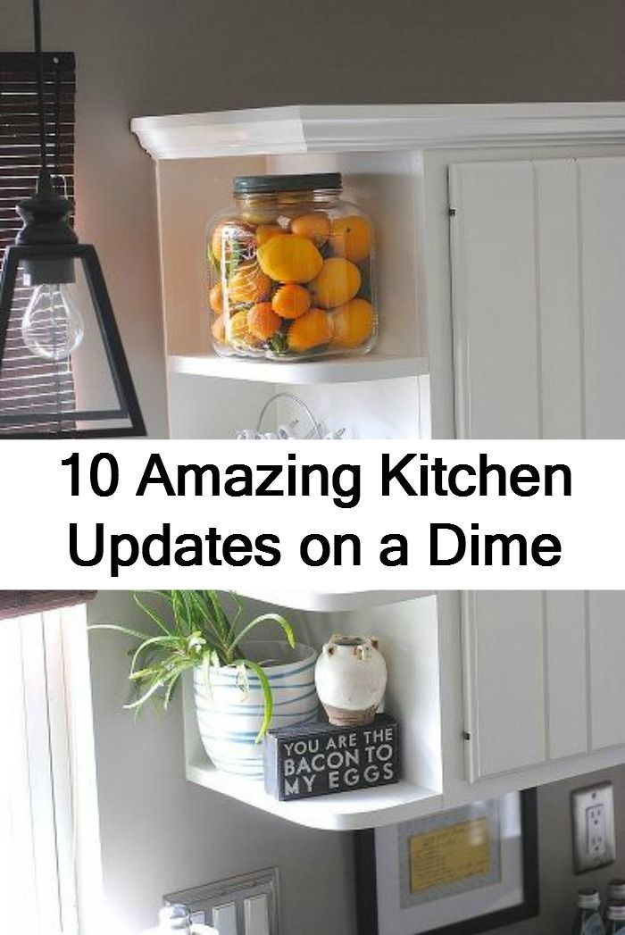 10 Amazing And Easy To Do Inexpensive Kitchen Updates Source By Hometalk