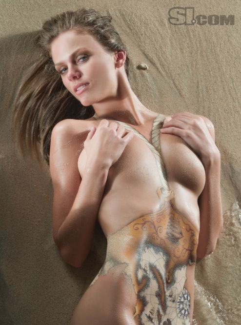 Naked asian bikini models