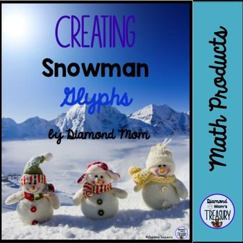 Creating Snowman GlyphsIncluded in this package is an explanation of what a glyph is, a sample of common glyph symbols, a snowman glyph form (2 pages),  a blank snowman template, colored pieces to cut out, a blank form for creating a personal glyph, and a sample list of some questions that can be asked for classification, counting, and comparison based on the symbols chosen.Creating a graph with the data collected could also be an extension activity.Here are some of my other glyphs.Turkey…