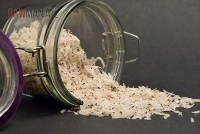 Domácí sušený kokos
