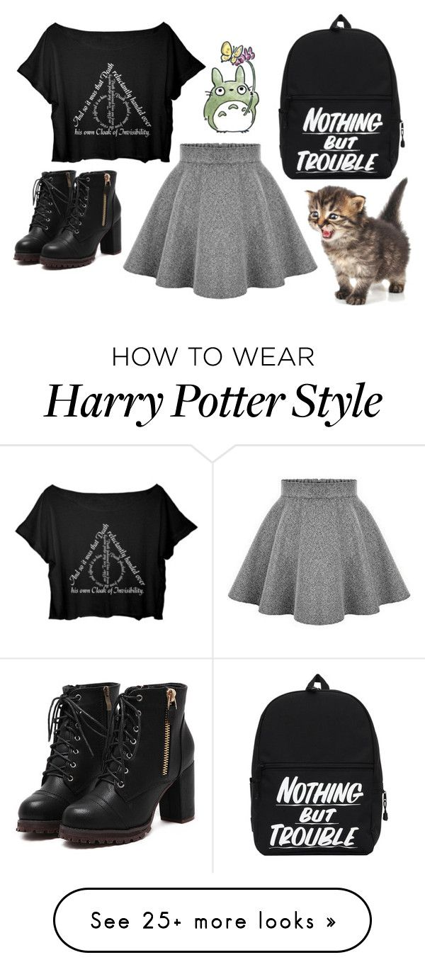 """Nothing but trouble"" by lam616 on Polyvore"