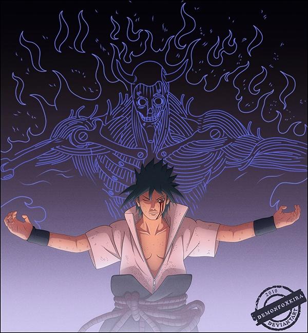 Sasuke Susanoo!Naruto Volume, Evil Sasuke, Naruto Shippuden, Animal Naruto, Sasuke Uchiha, Naruto Villains, Naruto Art, Sasuke Susanoo