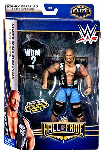 """WWE Wrestling Elite Collection Hall of Fame Stone Cold Steve Austin 6"""" Action Figure - http://howtobefamous.net/wwe-wrestling-elite-collection-hall-of-fame-stone-cold-steve-austin-6-action-figure/"""