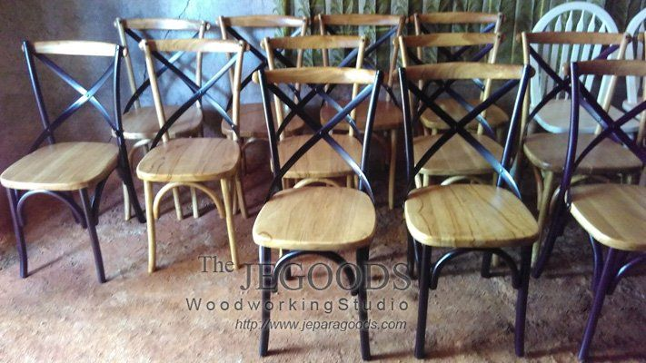 We produced Cross Back mid century #retro chairs #scandinavia #vintage made of #teak Indonesia at factory prices. http://jeparagoods.com     Jegoods Woodworking (@jeparagoods) | Twitter