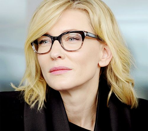 Cate Blanchett - Love the frames!