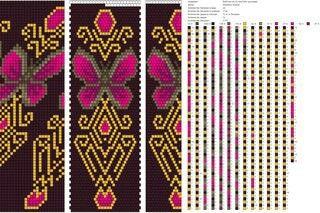 butterfly Bead weave