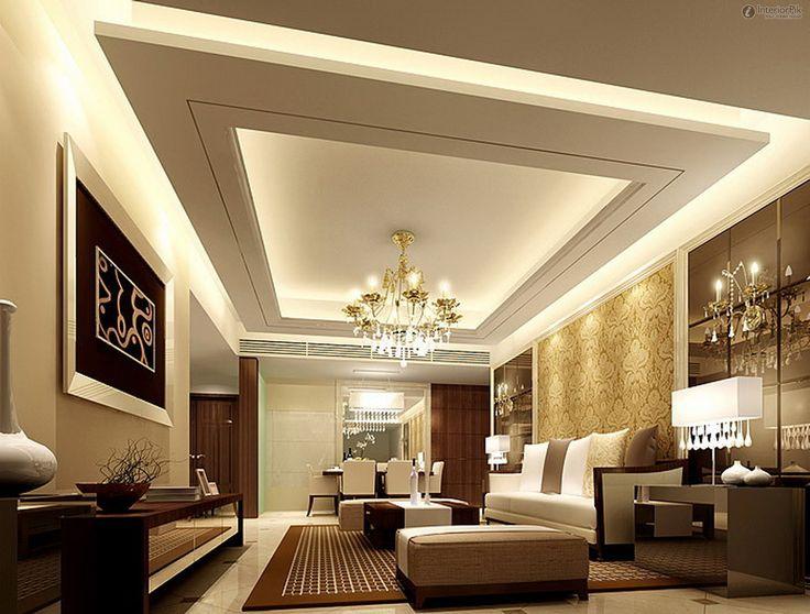 modern ceiling ideas for living room decorating grey and white fresco of vaulted interiors design false designs