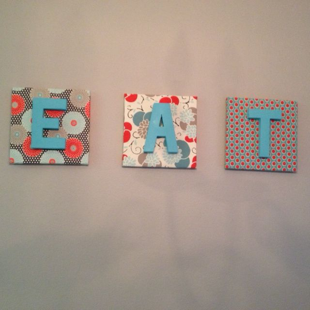 Best 25 fabric covered canvas ideas on pinterest fabric for Fabric covered letters