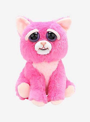 Feisty Pets Lady Monstertruck Pink Cat Plush, Cat plush