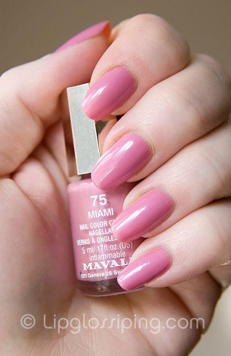 Mavala Miami Nail Polish NOTD - A Makeup & Beauty Blog - Lipglossiping