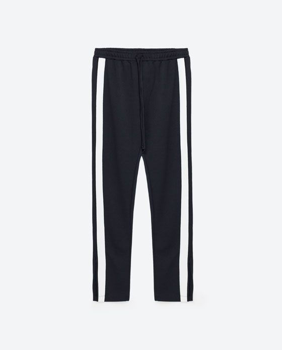 Image 8 of JOGGING TROUSERS from Zara