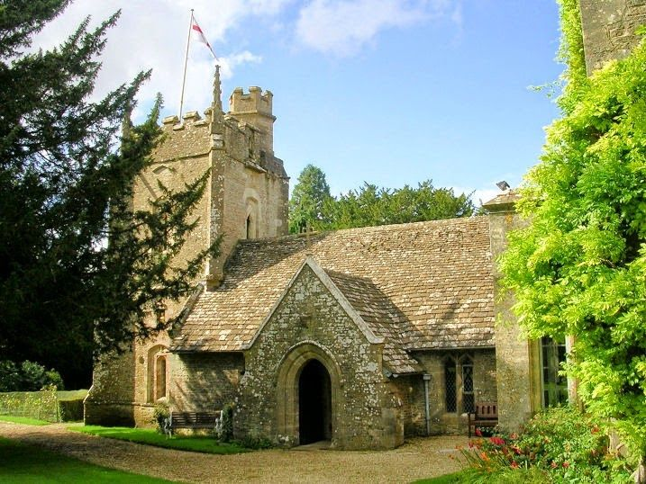 44. Swale Church was half a mile from the village of Swale at the head of the track leading to the village.