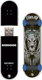 Action Sport Drives Powered by SanDisk - Birdhouse Tony Hawk Skateboard 8GB USB 2.0 Flash Drive