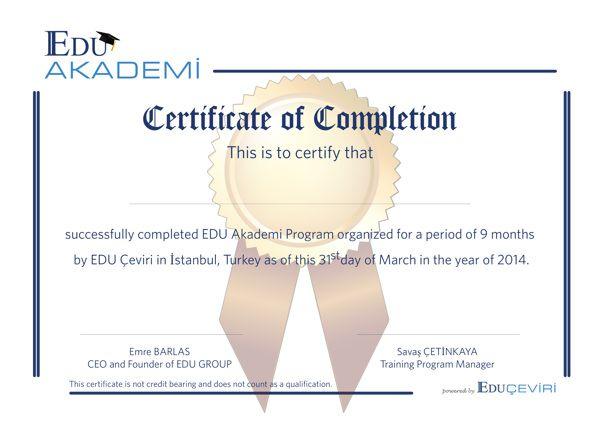 Edu Akademi - Diploma Tasarımı