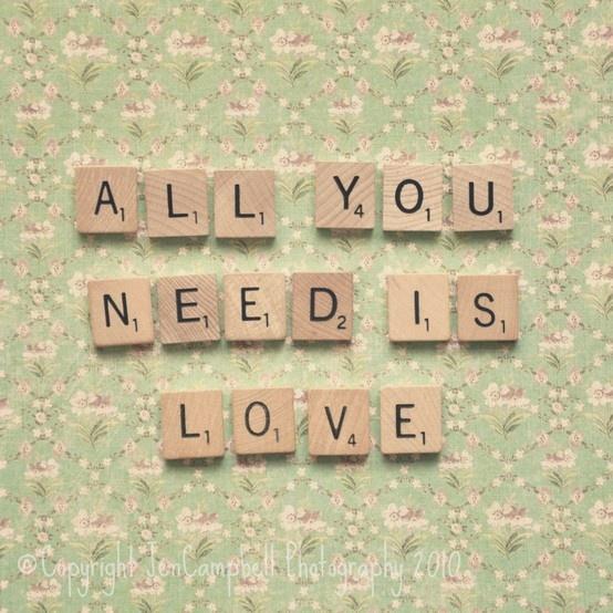 All you need is love All you need is love, Vintage