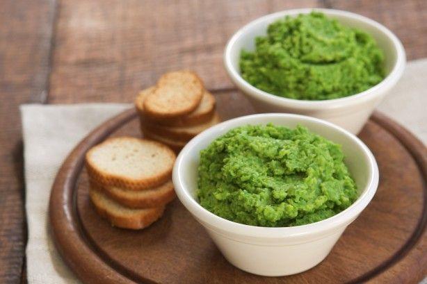 Pea and parmesan dip main image