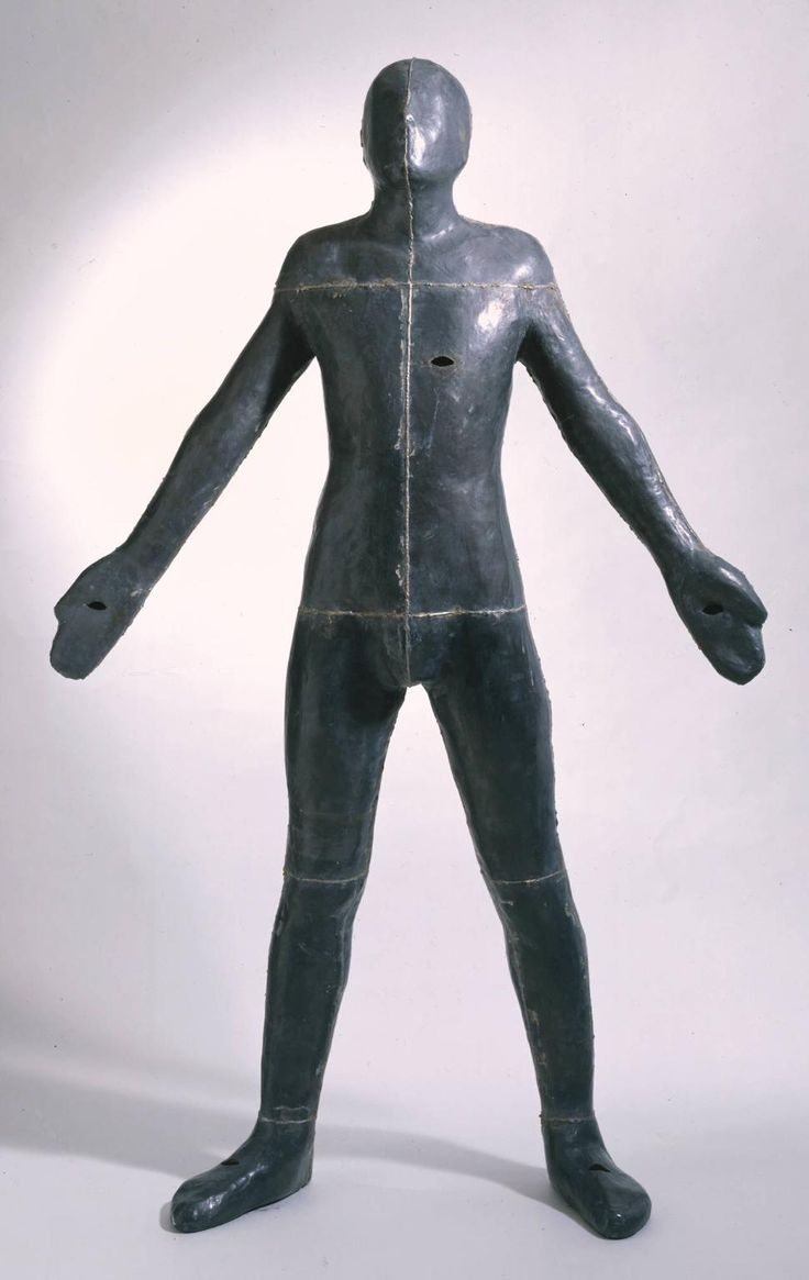 Antony Gormley 'Untitled (for Francis)', 1985, Lead, fibreglass and plaster