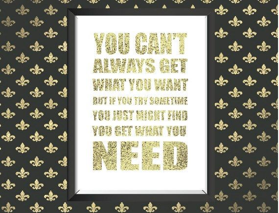 A personal favorite from my Etsy shop https://www.etsy.com/listing/244751956/real-gold-foil-wall-art-print-in-white