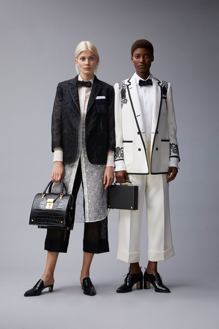 See the complete Thom Browne Resort 2018 collection.