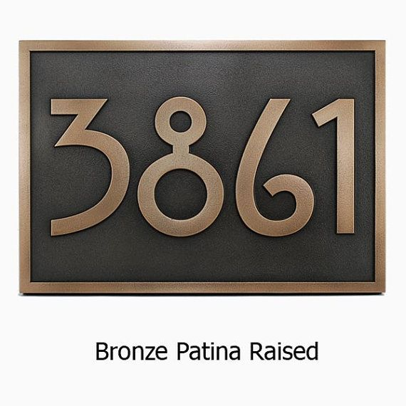 1000 images about house address plaques on pinterest for Bungalow house numbers