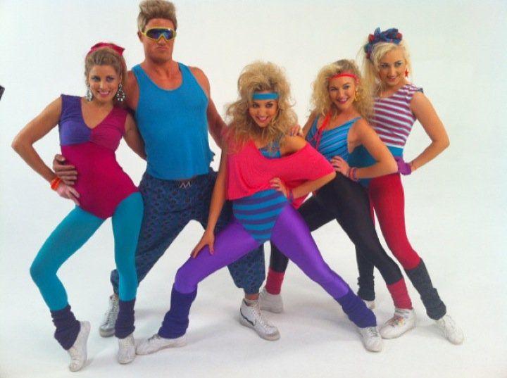 80s aerobics hair - Google Search
