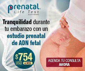 Si estás embarazada un estudio prenatal de ADN fetal puede infórmarte acerca de la salud de tu bebé, además del sexo. Desde la semana 10 de embarazo.