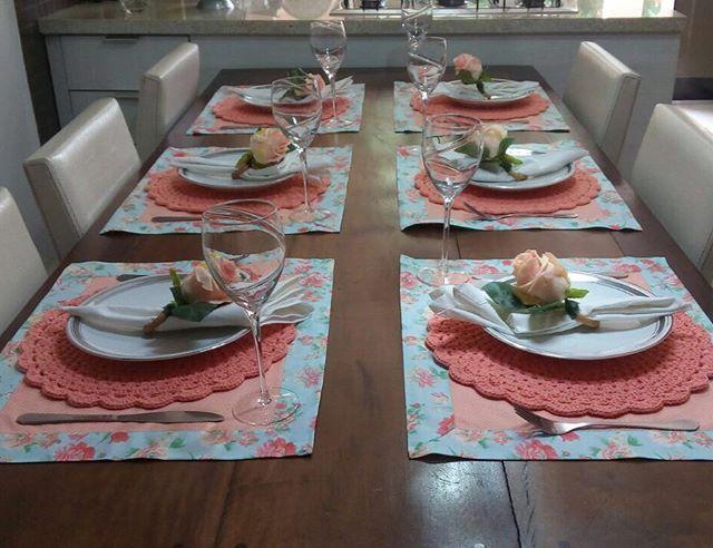 Feriado cheio de mesas lindas de clientes. Josi arrasou!