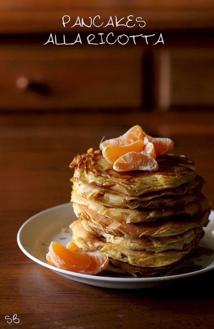 Comfort food: Pancake alla ricotta