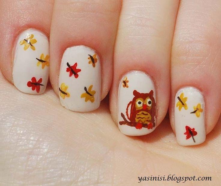25+ trending Owl nail designs ideas on Pinterest | Owl nail art, Owl nails  and Animal nail designs - 25+ Trending Owl Nail Designs Ideas On Pinterest Owl Nail Art