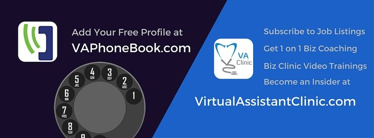 Are you a VA? Consider joining VA Phone Book on Facebook for support & resources any VA needs! #FollowFriday