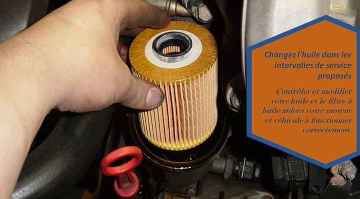 Changez régulièrement l'huile motrice et le filtre  Le changement fréquent d'huile moteur aide à débusquer les particules de saleté et de métal abrasif du moteur. Ainsi, le changement régulier et fréquent d'huile est recommandé pour une vie prolongée du moteur. Changez le filtre à huile aussi, comme l'ancien filtre aura un peu de poussière et des particules de métal qui peuvent gâcher la nouvelle huile propre. #pneusdefriction