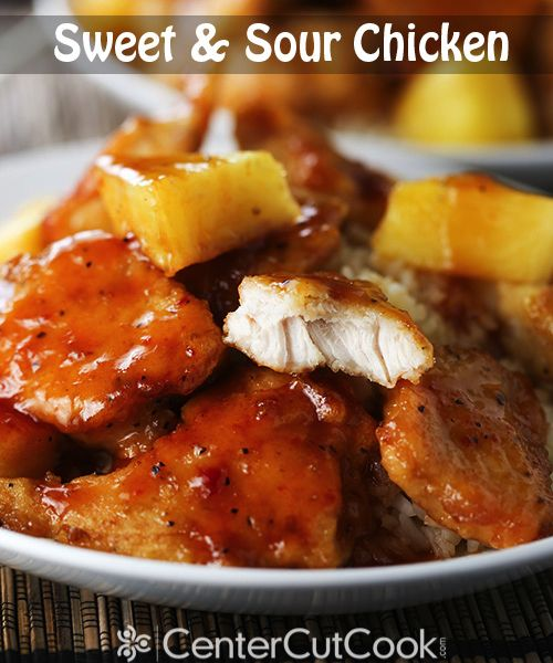 The BEST Sweet & Sour Chicken I've ever made!