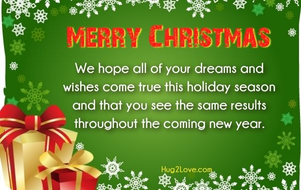 christmas wishes messages for friends