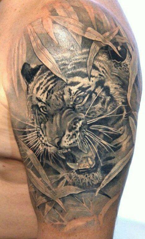 Tiger Tattoo Design #tattoos