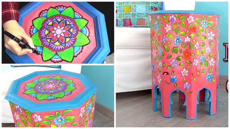 Pinta y decora tus muebles con mandalas y zentangle art - Isa ❤️