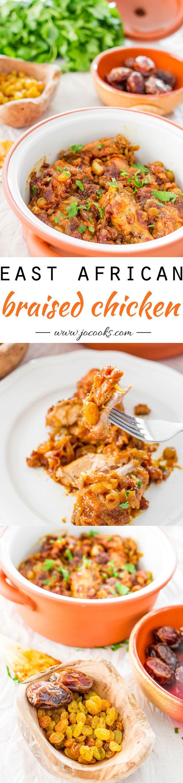 East African Braised Chicken Recipe!!!      ~XOX    #MomAndSonCookingTeam