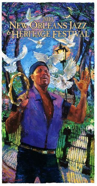 New Orleans Jazz  Heritage Festival, one of the best parts of the New Orleans music scene!