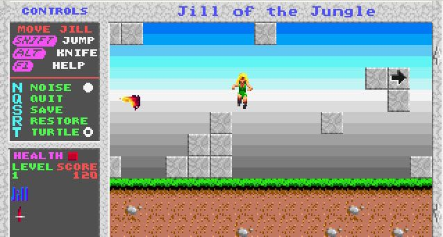 Jill of the jungle! Another awesome game.