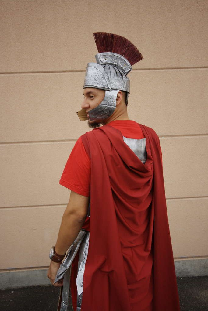 DIY Roman soldier outfit