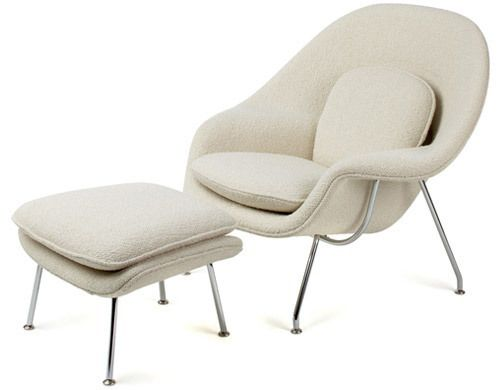 Eero Saarinen's 1948 Womb Chair made exclusively for Knoll.