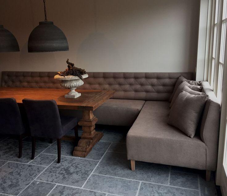 Eetkamerbank Gerard | Maatwerk - De Woonstee Tiel