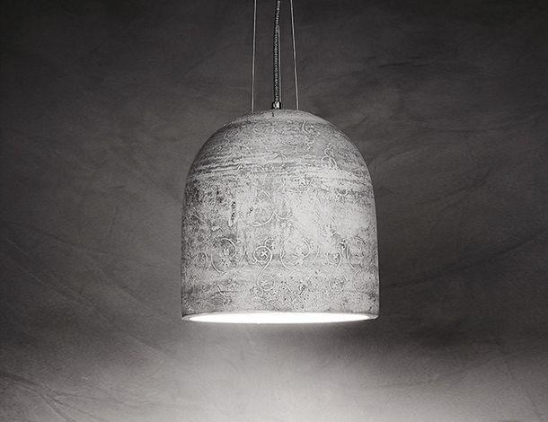 Hedera concrete lamp design Urbi et Orbi 2015
